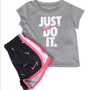 Nike Dri-fit t-shirt and matching shorts